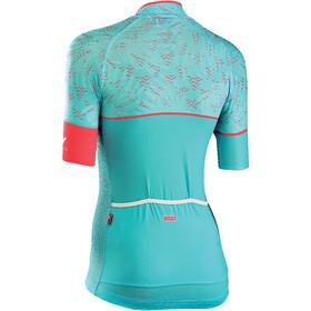 Northwave Verve 3 Fietsshirt korte mouwen Dames turquoise